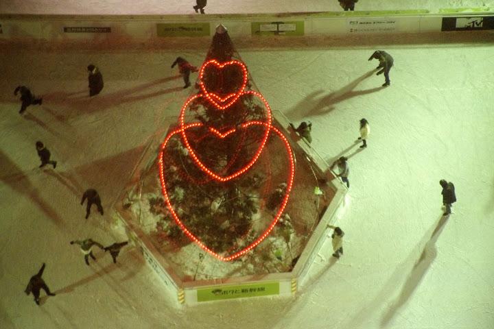 スケートリンクを飾る♡達(1丁目)