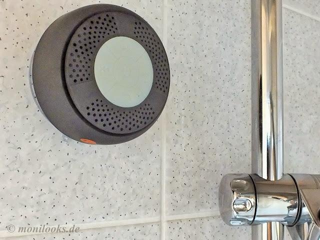 duschen mit musik bluetooth lautsprecher im test. Black Bedroom Furniture Sets. Home Design Ideas