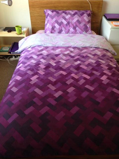 Purple Bed Sheet
