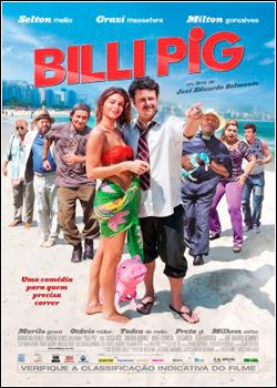 Filme Poster Billi Pig DVDRip XviD & RMVB Nacional
