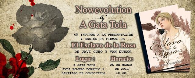Presentación - El esclavo de la Rosa - Javi Cuho - Van Duran