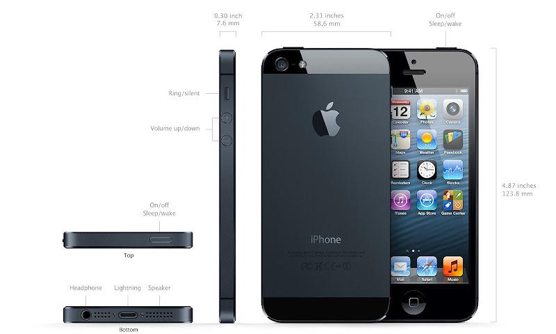 New iPhone 5 black photo