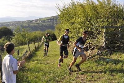 Courir pour des pommes 2011 - Nono, derrière Serge