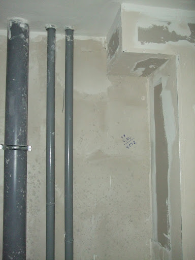 Ванная комната Стенка со стороны кухни