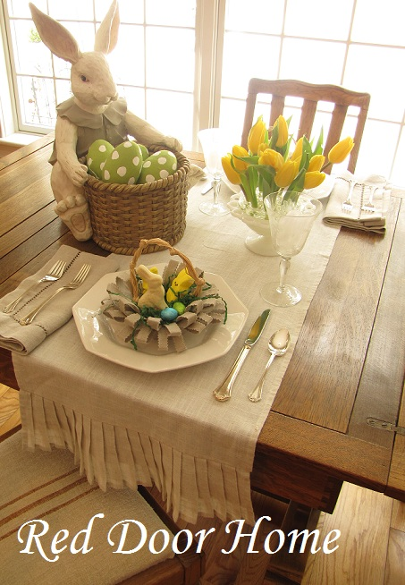 Red Door Home Spring Tablescape