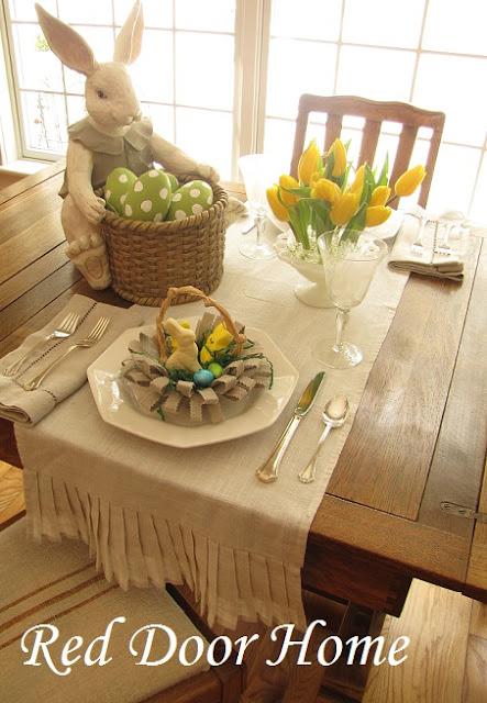 Red Door Home Spring Tablescape
