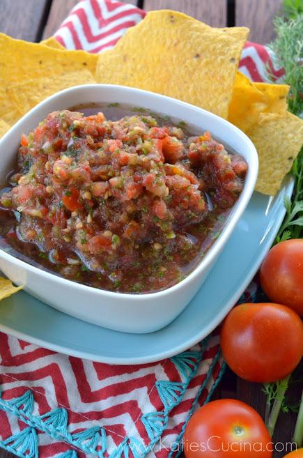Chipotle Cherry Tomato Salsa