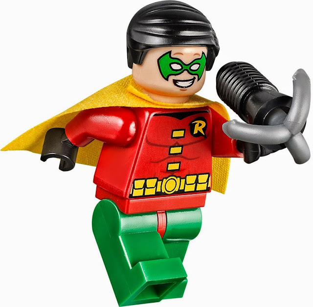 Các nhân vật  sinh động đẹp mắt của bộ xếp hình Lego Juniors 10672 Bảo vệ hang dơi