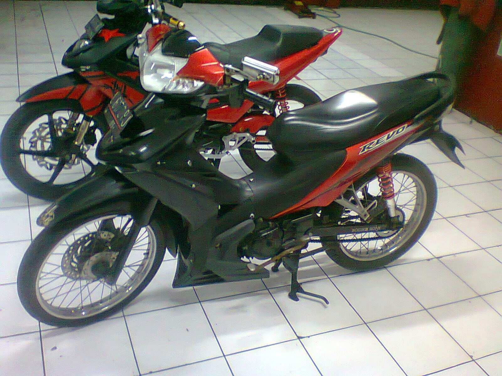 Revo Fit fi Modif Motor Honda Revo Fit