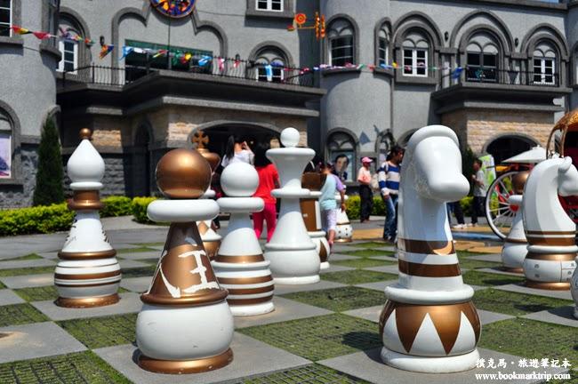 元首館3D棋盤峽谷