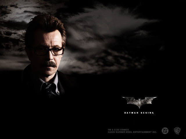 Batman Begins Gary Oldman as Jim Gordon
