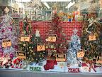クリスマスの飾りのお店