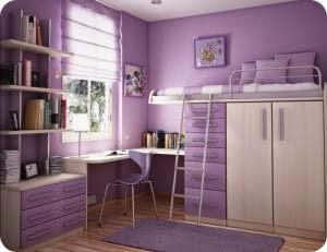 Ремонт комнаты для девочки подростка