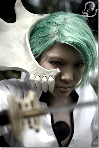 bleach: shattered blade cosplay - arturo plateado