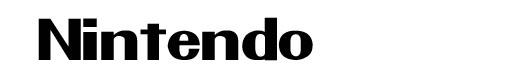 Pretendo logo font Nintendo