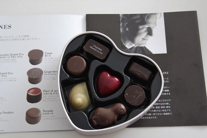 ベルギーの巨匠「ピエールマルコリーニ」のバレンタインセレクション