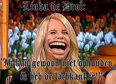 Linda de Drol lachkanker