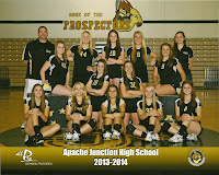 Apache Junction High School Varsity Volleyball 2013