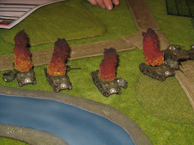 Marcadores de humo para Flames of War