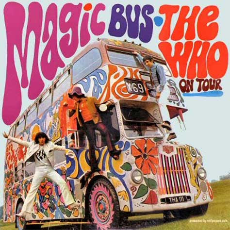 Portada del Magic bus de The Who