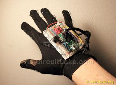 Arduino KeyGlove controller