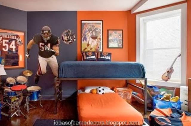Football Bedroom Ideas Uk