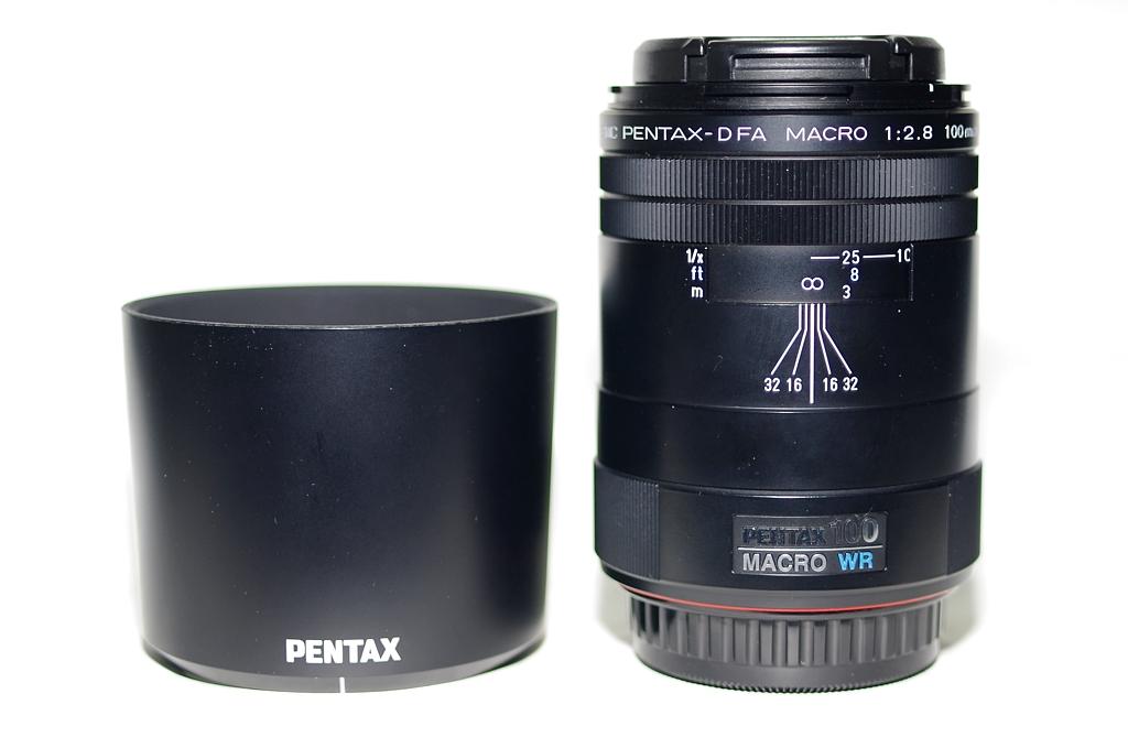SMC PENTAX-D FA 1:2.8 100mm MACRO WR