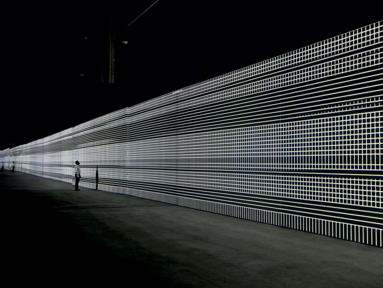 Bicocca, 20126 Milano, Italia: Unidisplay by Carsten Nicolai