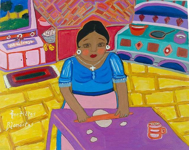 Tortillas Blanditas, by Sonya Gonzalez