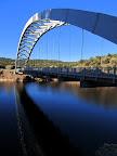 Cart Creek Bridge at Flaming Gorge Reservoir