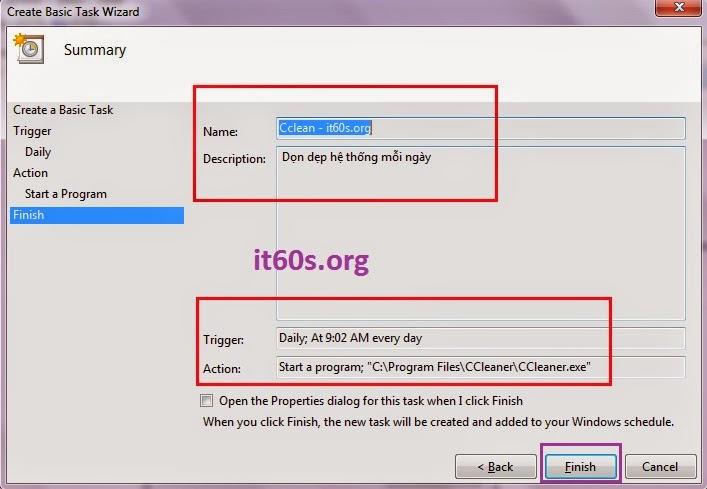Thủ thuật cấu hình ứng dụng tự khởi động trong Windows 7 8