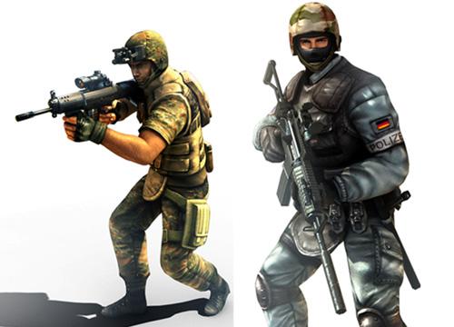 Lính đặc nhiệm GSG9 có mặt trong Đột Kích 1