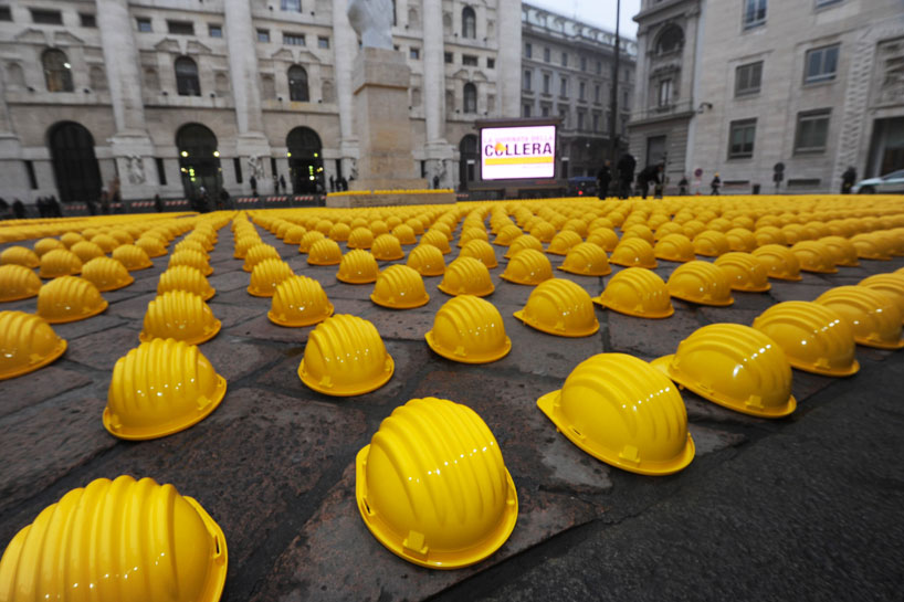 *10000頂黃色頭盔:視覺藝術的無聲抗議! 5