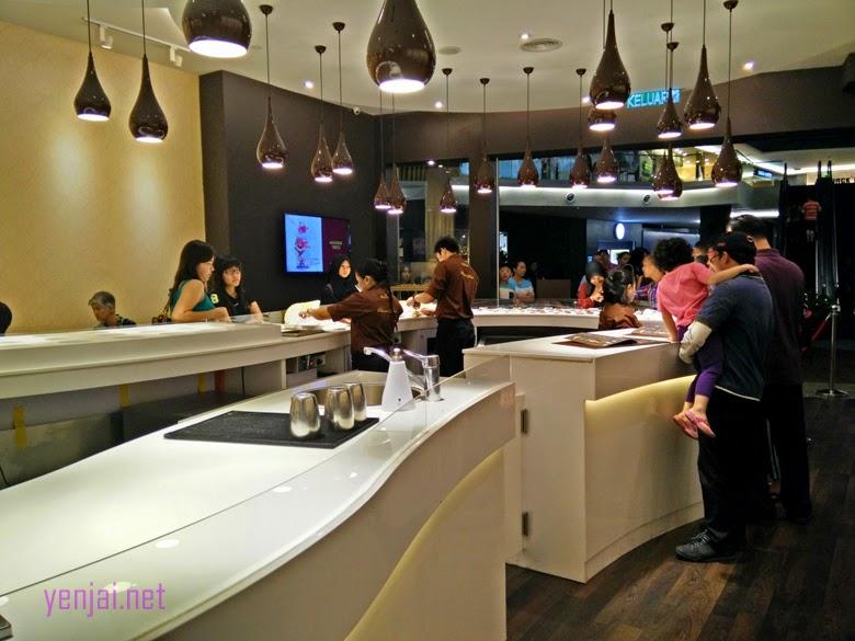 Magnum Cafe midvalley Kuala Lumpur KL