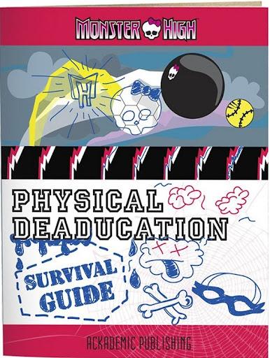 Ghoulia Yelps - Classroom Playset: Deseducación Física