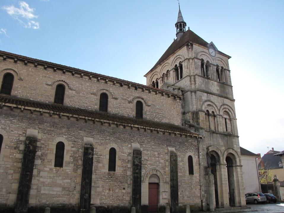 Ebreuil -Eglise Saint-Léger