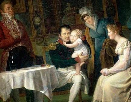 Наполеон и его сын