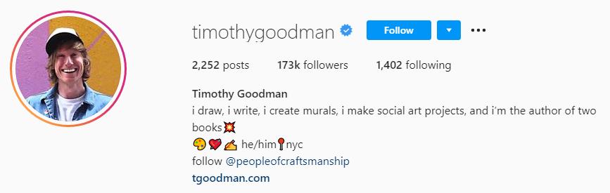 timothygoodman on instagram timothy goodman