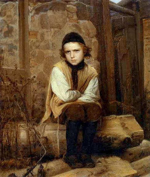 Ivan Kramskoy - Insulted Jewish Boy