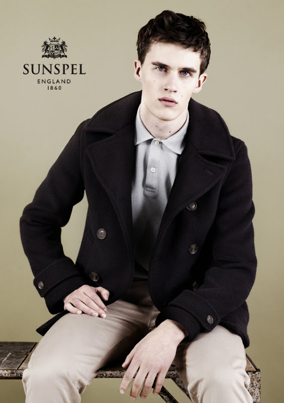 Luka Badnjar by Ben Toms for Sunspel, F/W 2011
