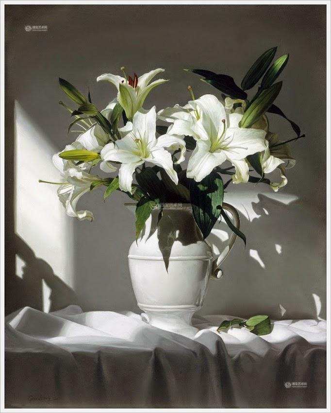 картинки черная лилия в вазе некоторым данным