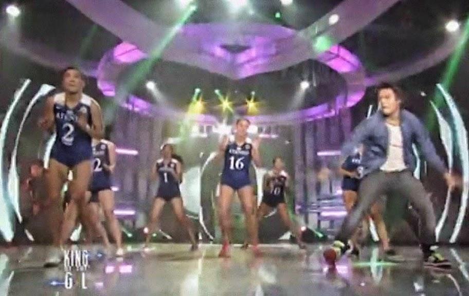ASAP 19 Episodes April/27/2014 Ateneo Lady Eagles