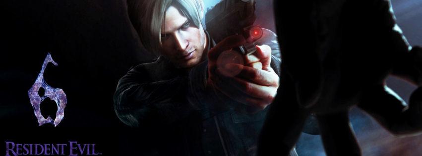 Resident evil 6 facebook cover