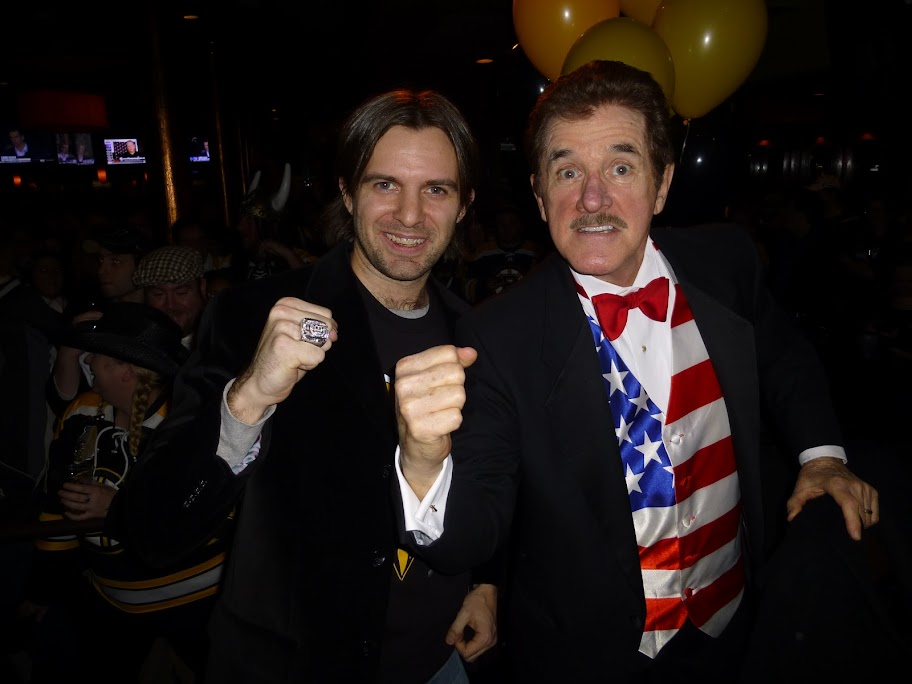 Justin Aucoin and Rene Rancourt