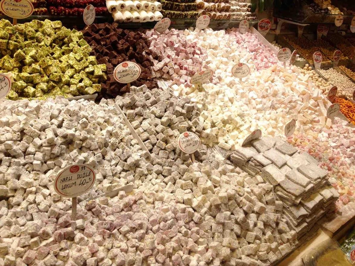 Delicias turcas. Comida típica de Estambul