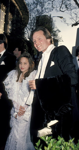 Como han cambiado: Angelina Jolie y John Voight