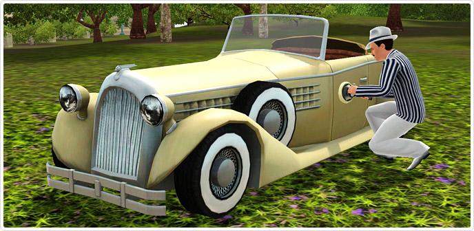 Sims  Woohoo In Car