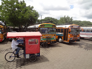 Bus station - León, Nicaragua