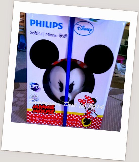 Minnie Mouse SoftPal Light