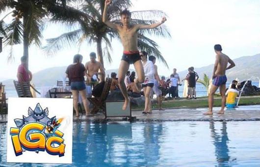 """Game thủ iGà khoe ảnh """"nóng bỏng"""" trên bãi biển 8"""